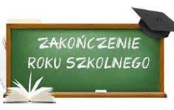 Więcej o: Zakończenie roku szkolnego 2019/2020 i odbiór świadectw