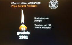 Więcej o: Ofiarom stanu wojennego – Zapal Światło Wolności